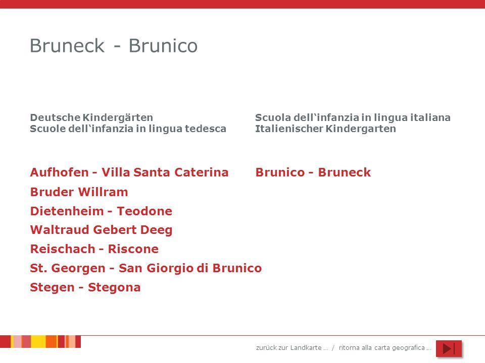 Bruneck - Brunico Aufhofen - Villa Santa Caterina Brunico - Bruneck
