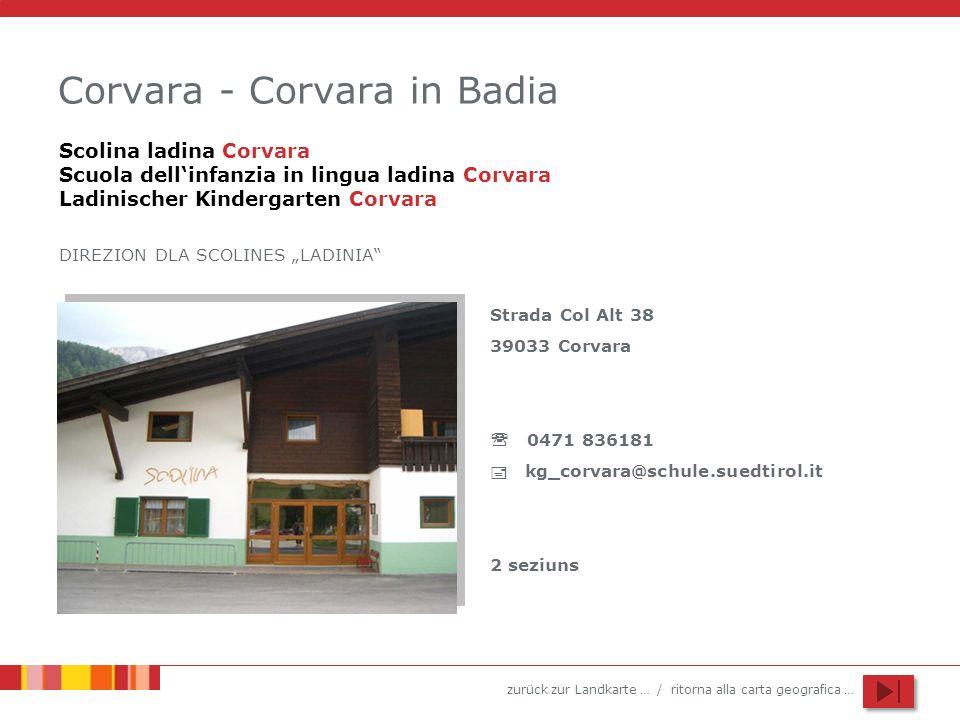 Corvara - Corvara in Badia
