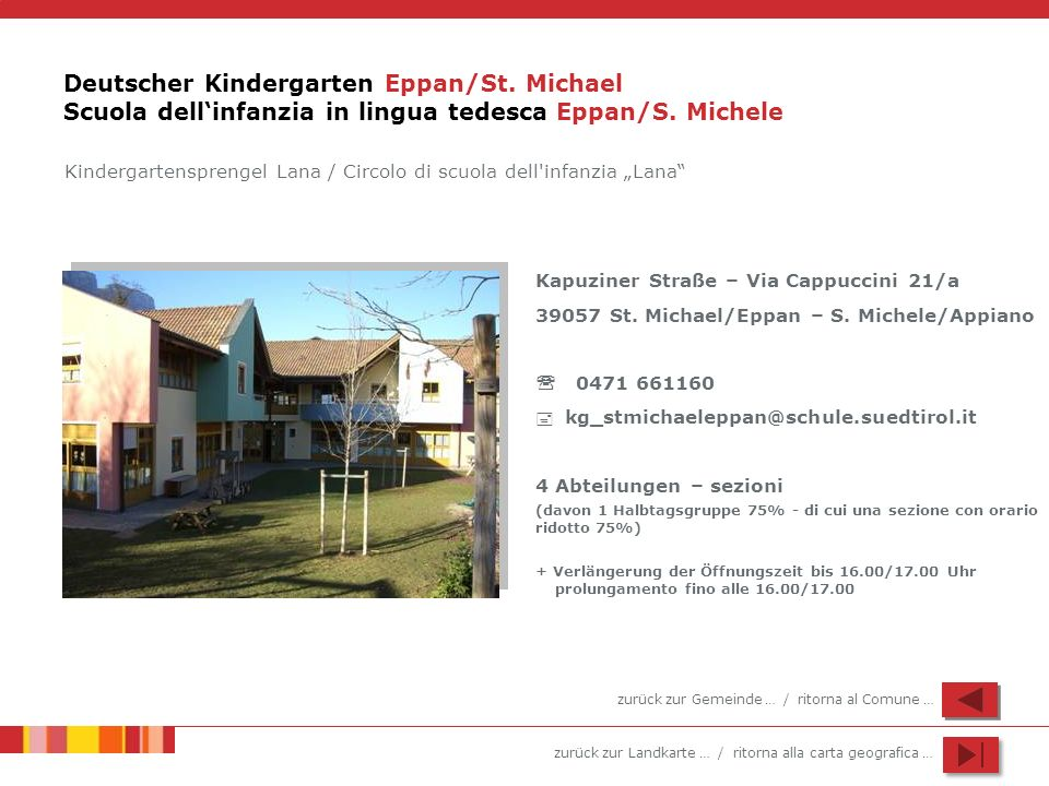Deutscher Kindergarten Eppan/St
