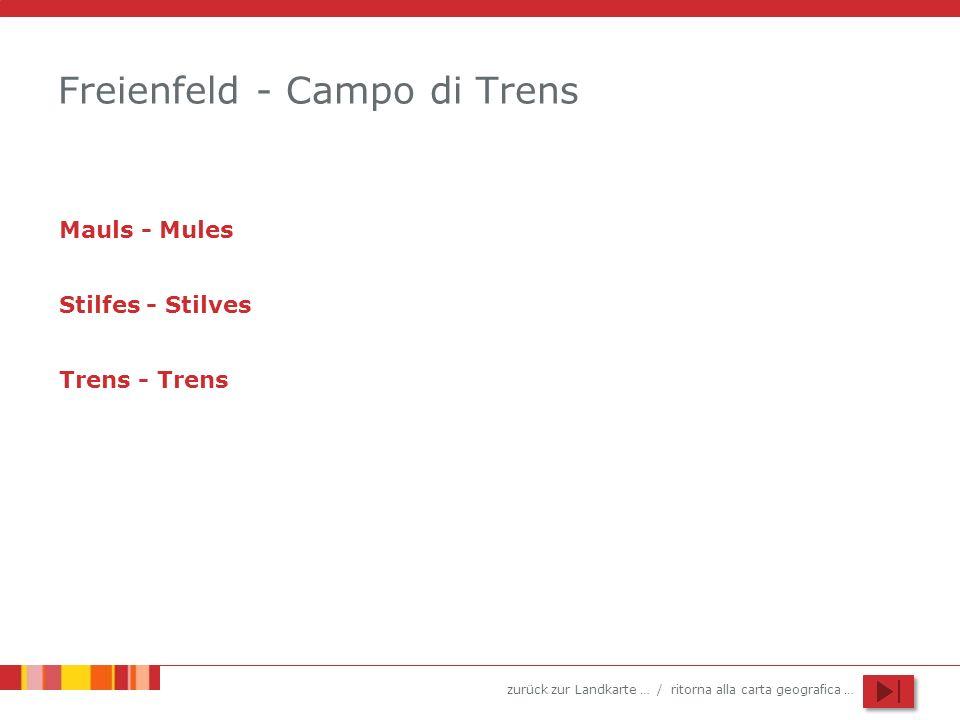 Freienfeld - Campo di Trens