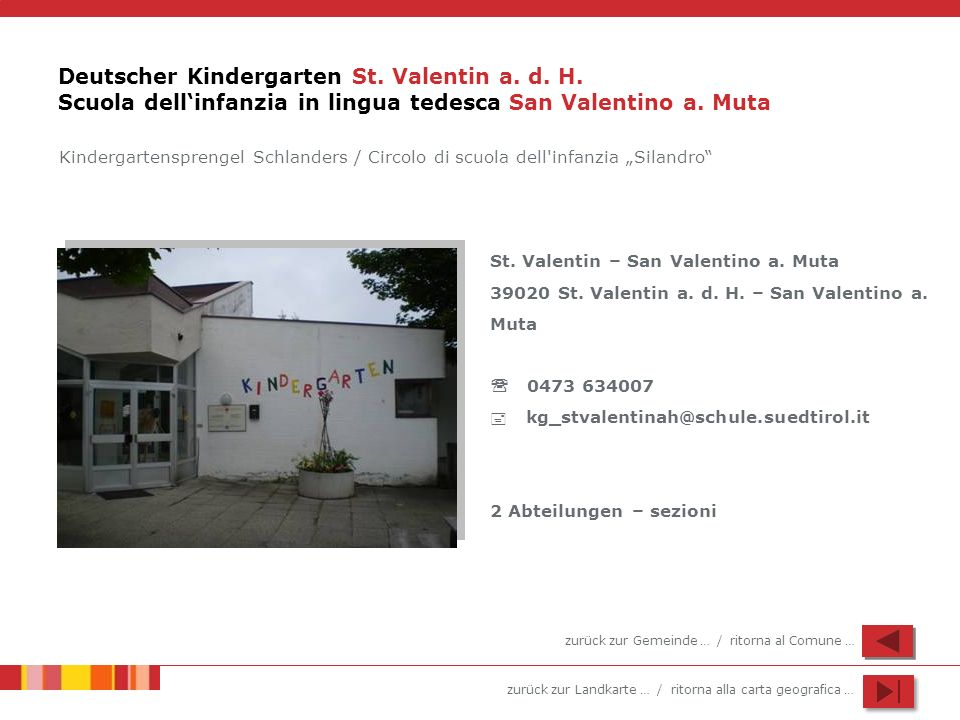 Deutscher Kindergarten St. Valentin a. d. H
