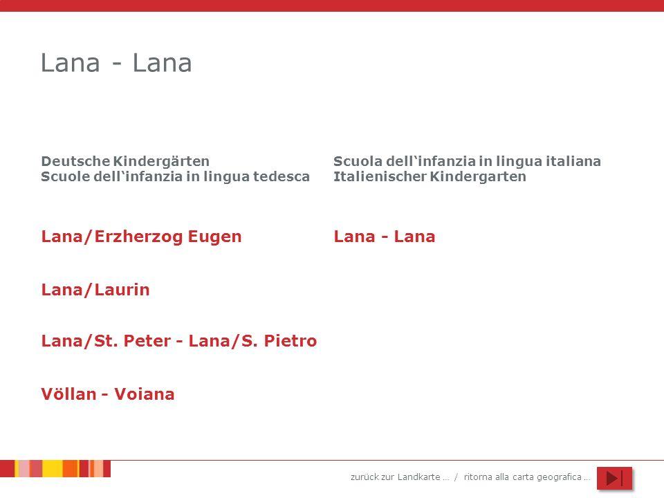 Lana - Lana Lana/Erzherzog Eugen Lana - Lana Lana/Laurin