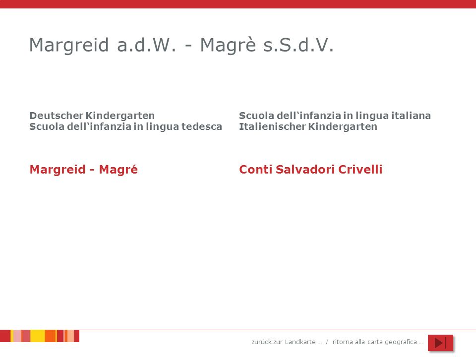 Margreid a.d.W. - Magrè s.S.d.V.