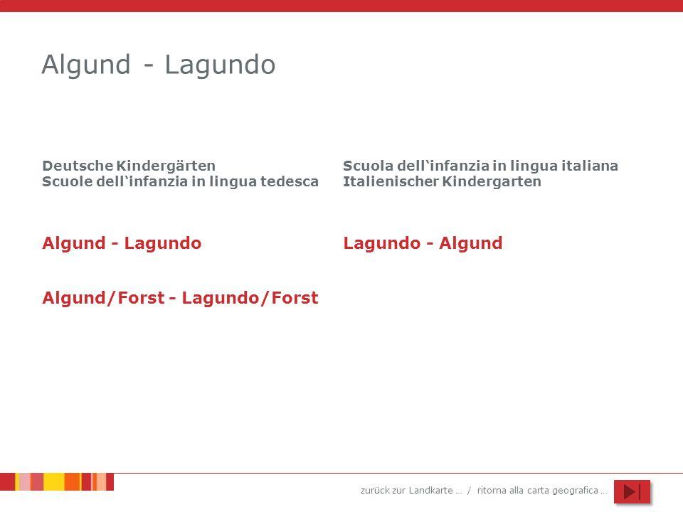 Algund - Lagundo Algund - Lagundo Lagundo - Algund