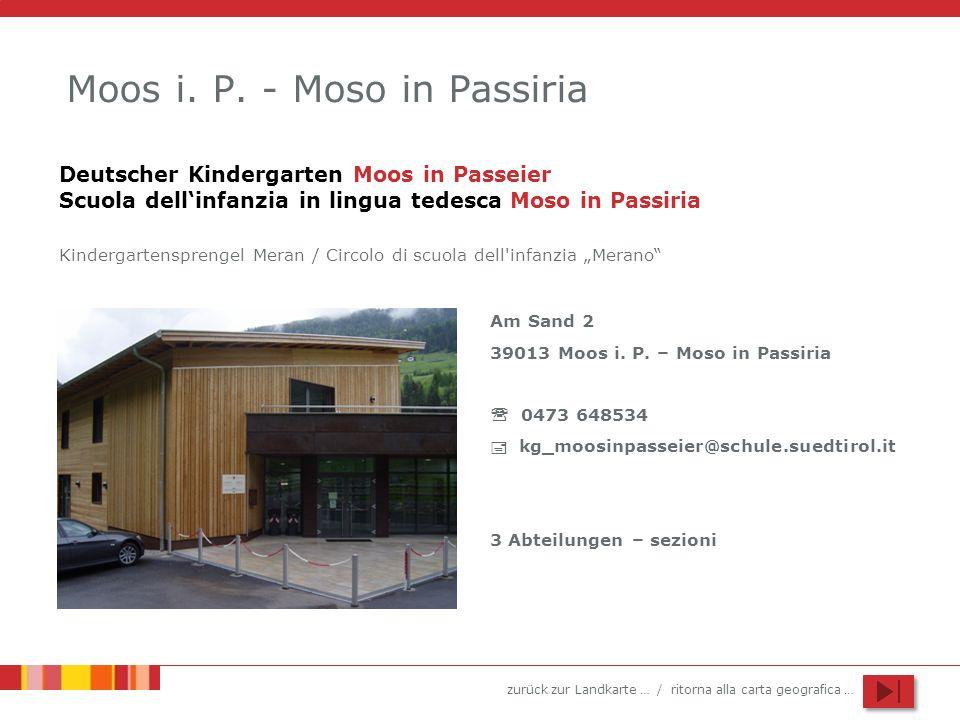 Moos i. P. - Moso in Passiria