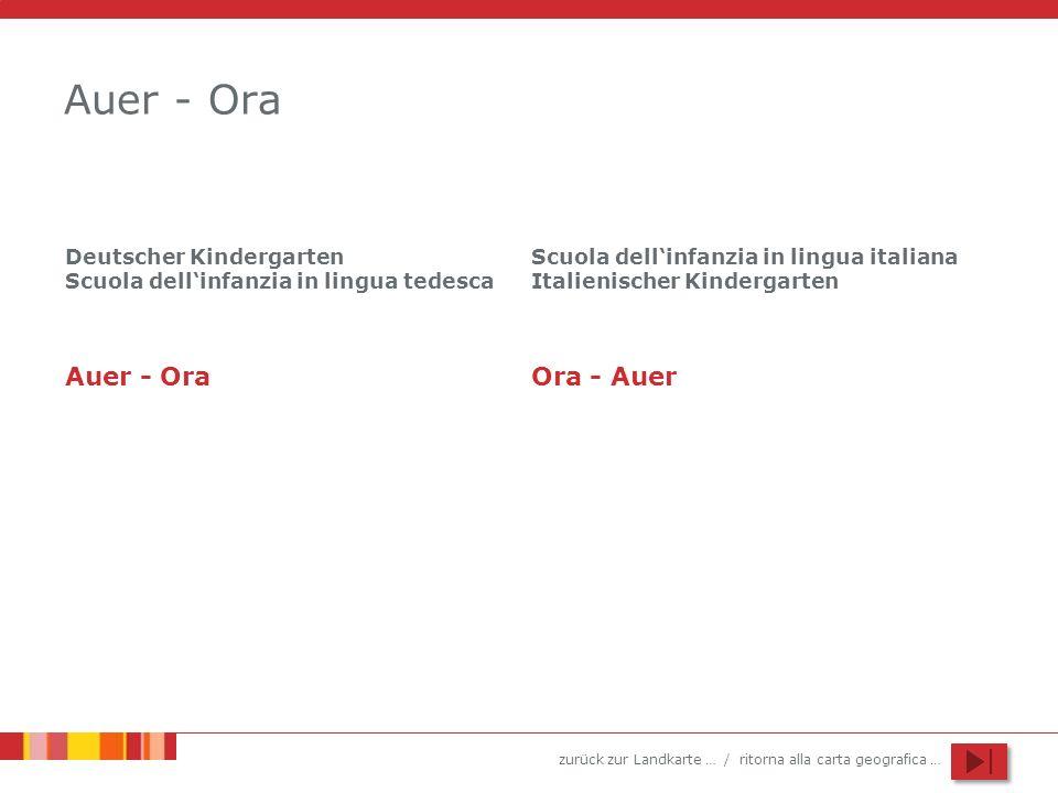 Auer - Ora Auer - Ora Ora - Auer Deutscher Kindergarten