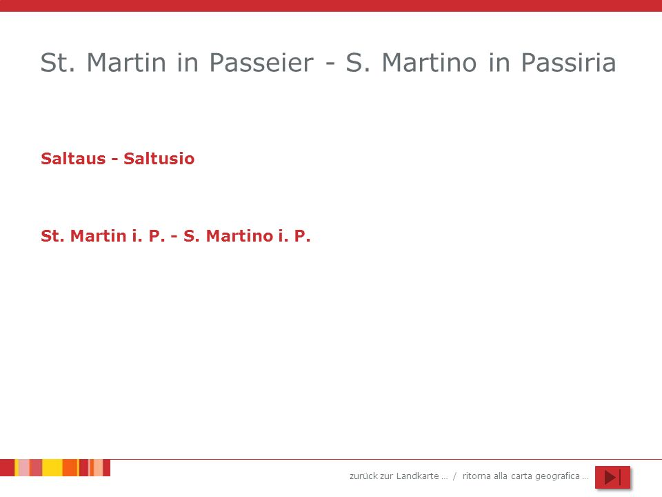 St. Martin in Passeier - S. Martino in Passiria