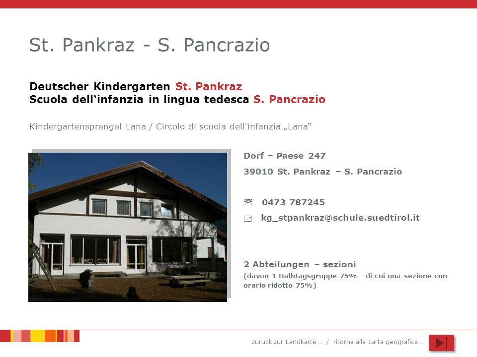 St. Pankraz - S. Pancrazio