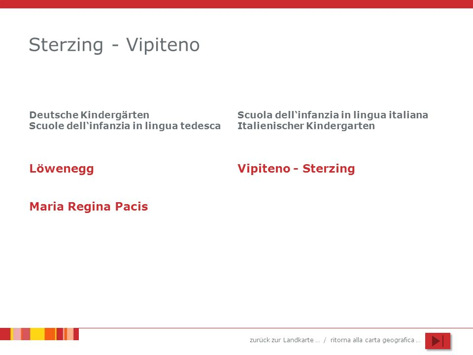 Sterzing - Vipiteno Löwenegg Vipiteno - Sterzing Maria Regina Pacis