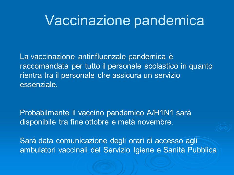Vaccinazione pandemica
