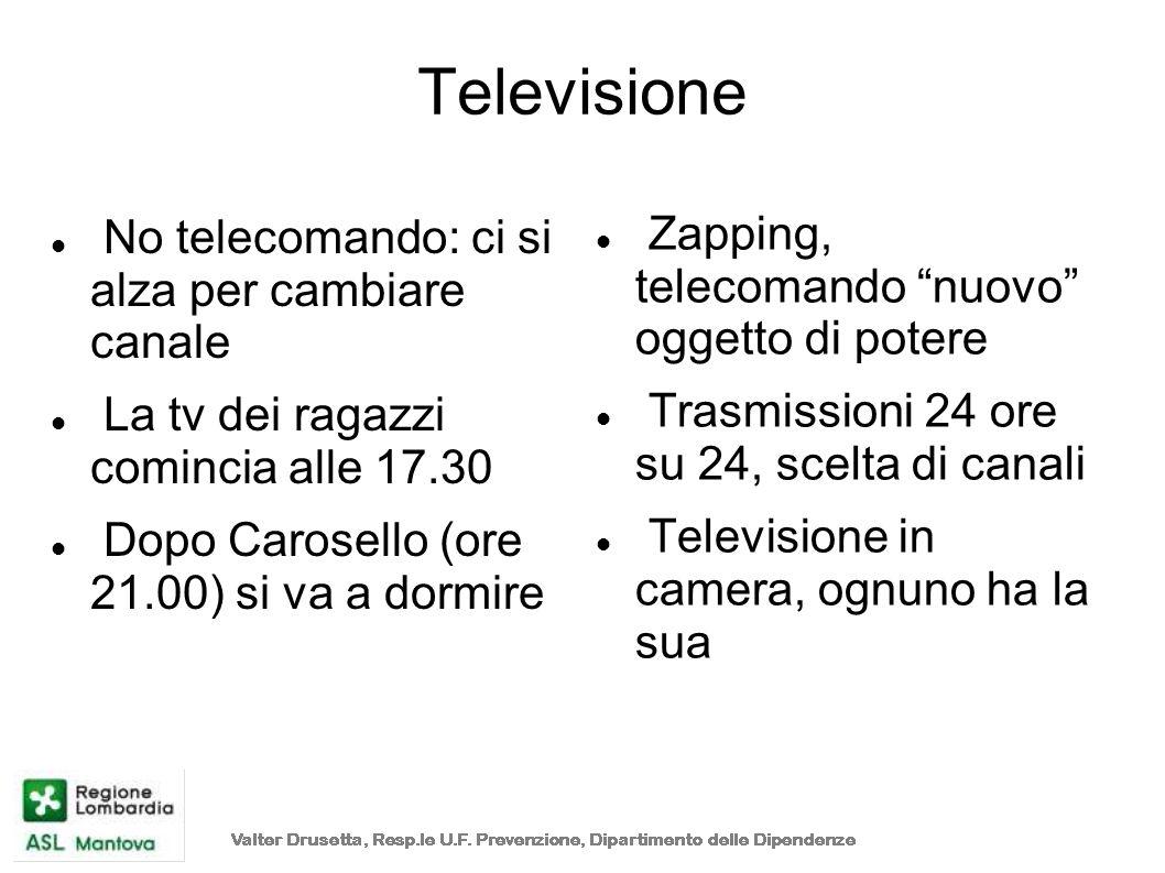 Televisione Zapping, telecomando nuovo oggetto di potere
