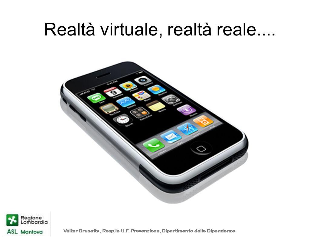 Realtà virtuale, realtà reale....