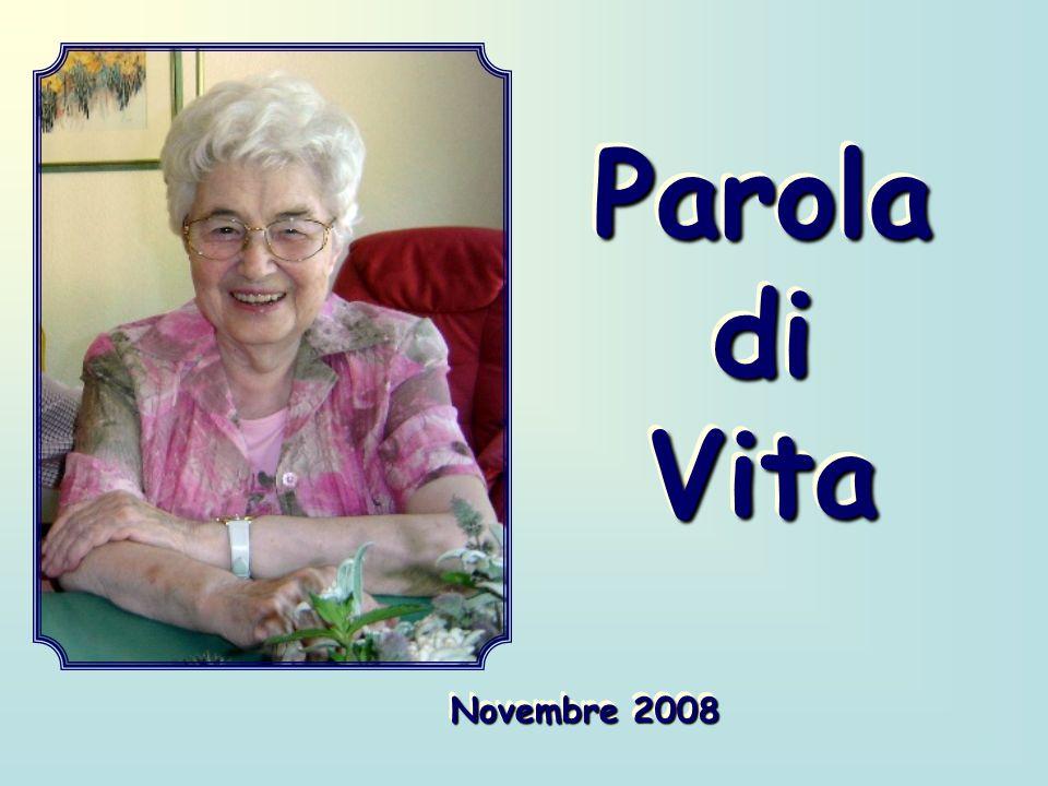 Parola di Vita Novembre 2008