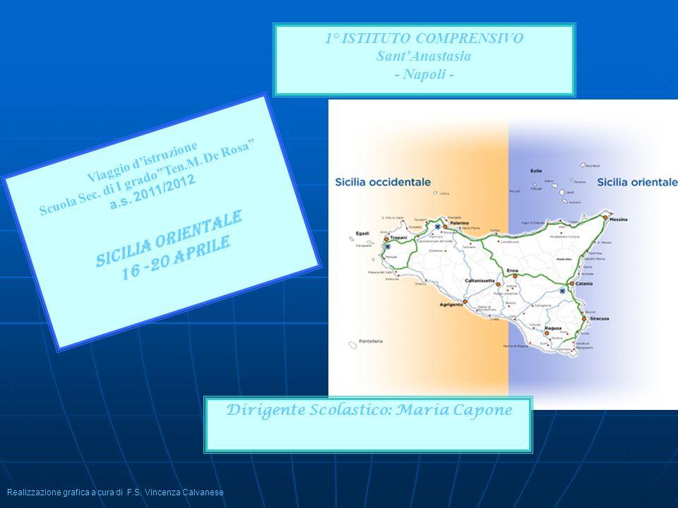 Sicilia orientale 16 -20 aprile