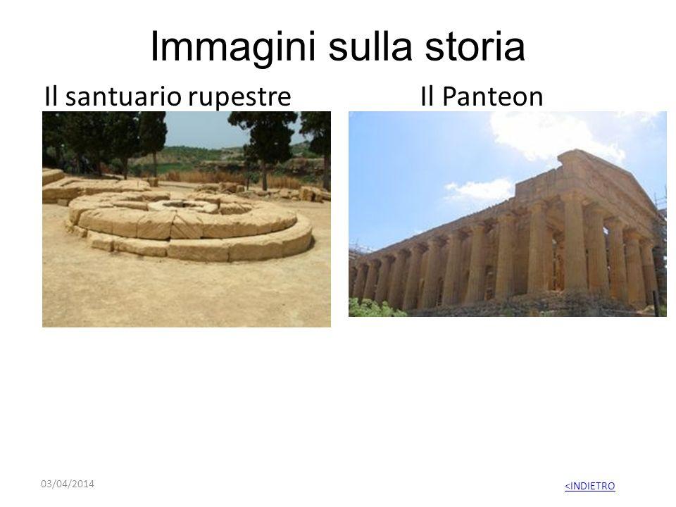Immagini sulla storia Il santuario rupestre Il Panteon 29/03/2017