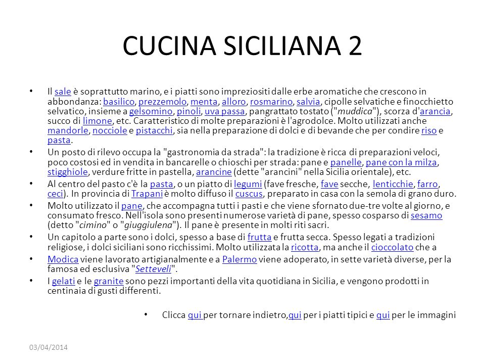 CUCINA SICILIANA 2