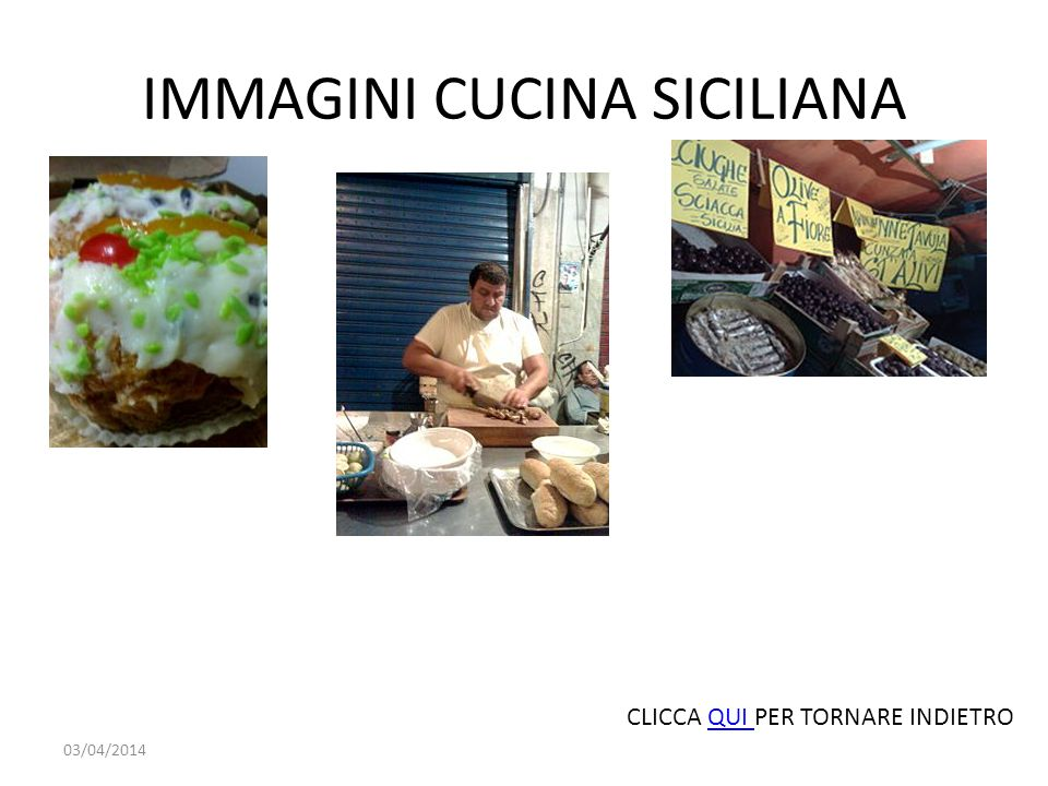 IMMAGINI CUCINA SICILIANA