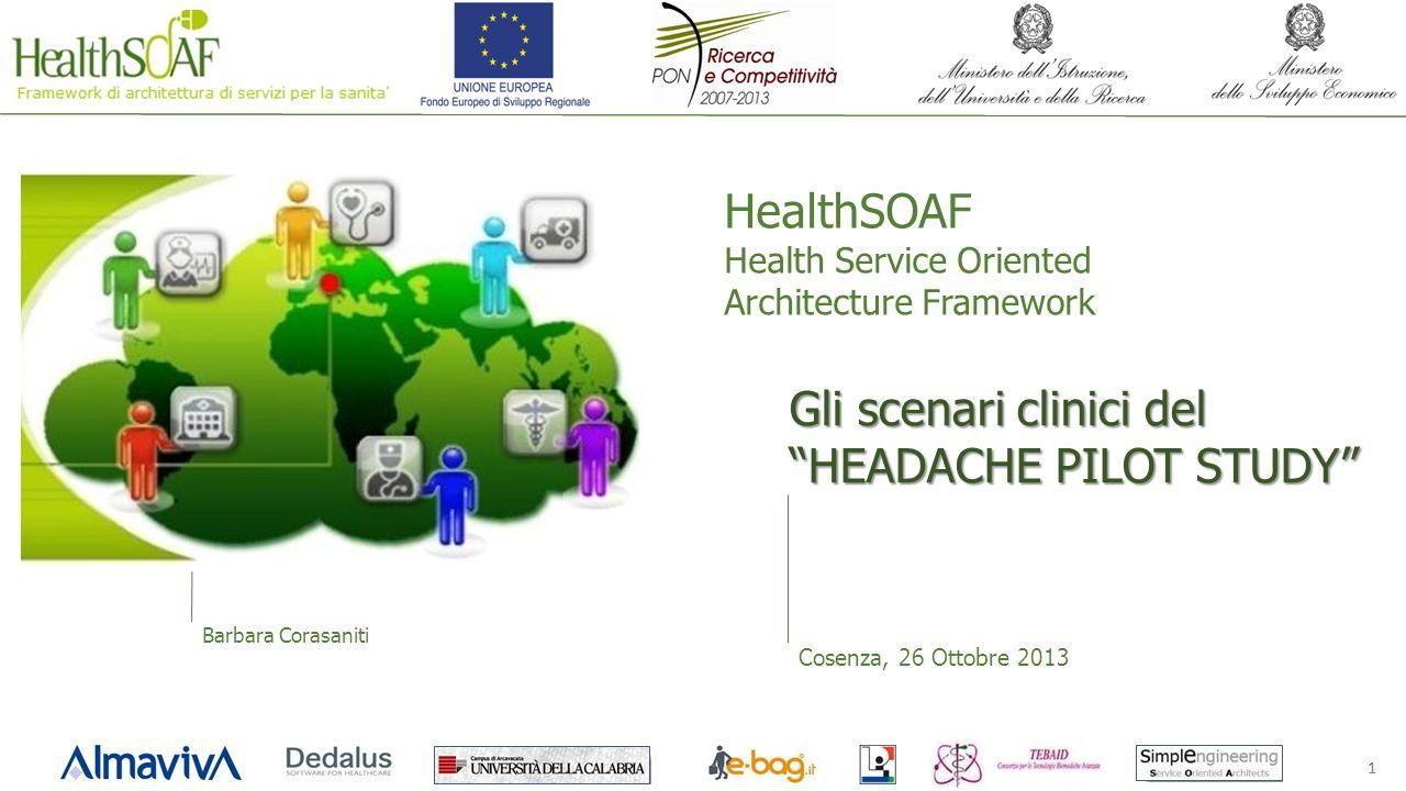 Gli scenari clinici del HEADACHE PILOT STUDY