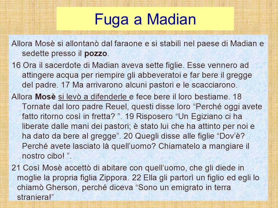 Fuga a Madian
