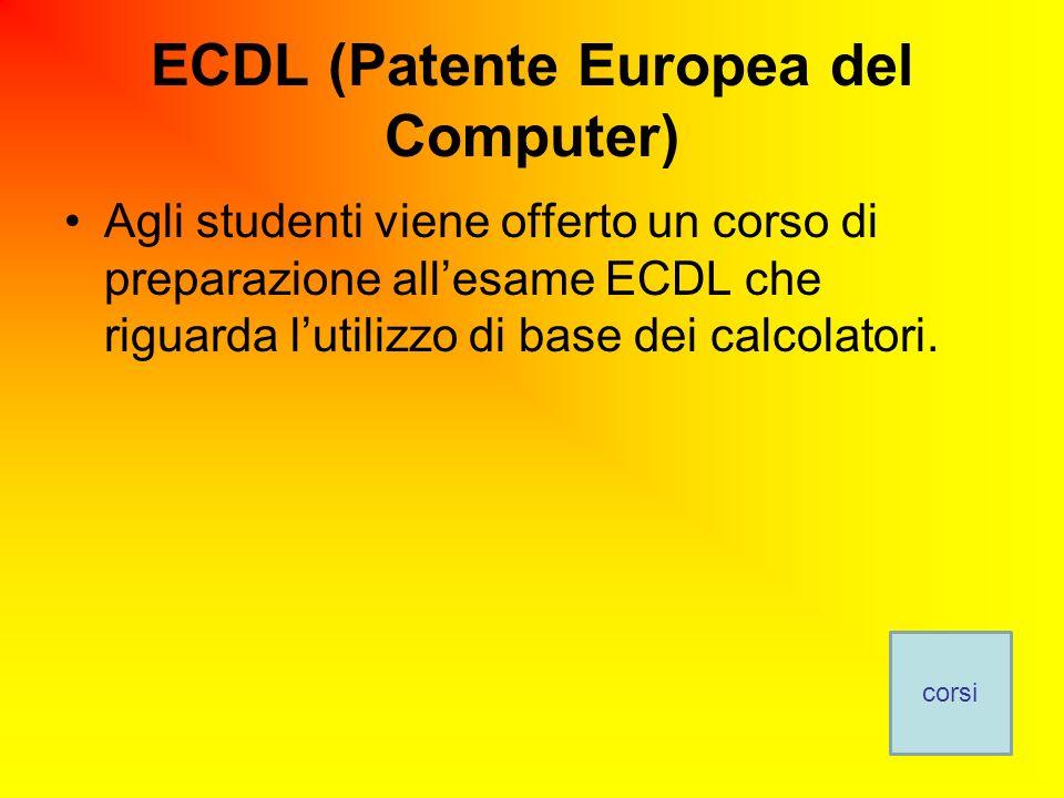 ECDL (Patente Europea del Computer)