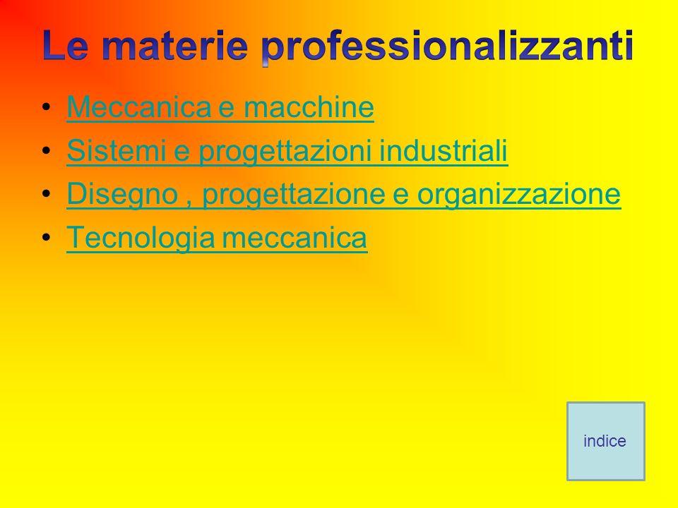 Le materie professionalizzanti
