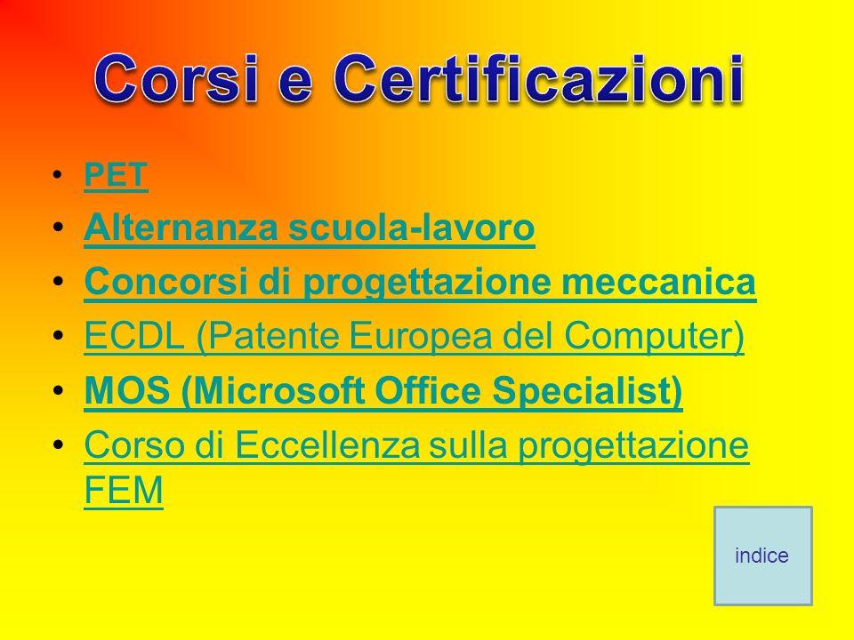 Corsi e Certificazioni