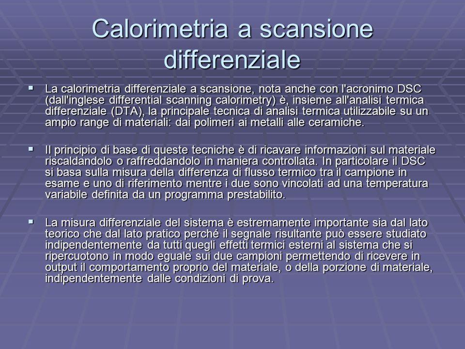 Calorimetria a scansione differenziale