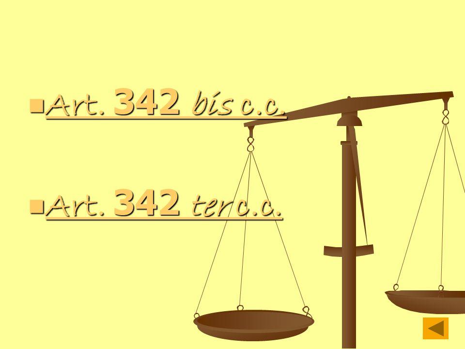 Art. 342 bis c.c. Art. 342 ter c.c.