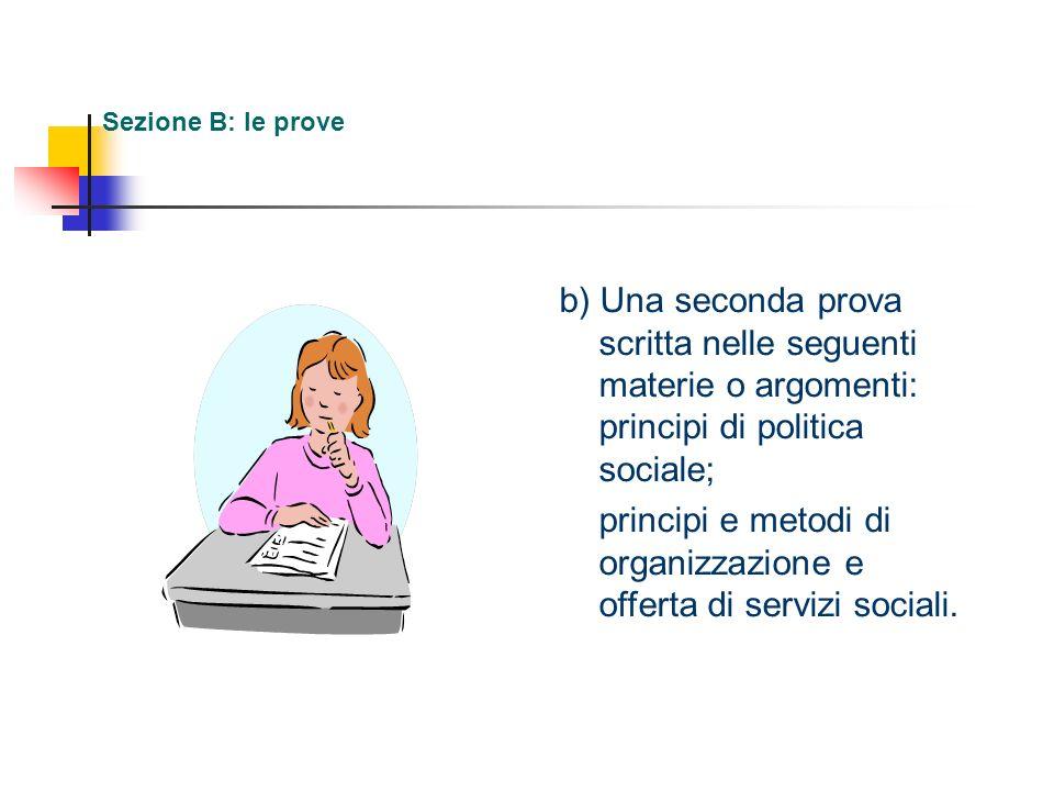 principi e metodi di organizzazione e offerta di servizi sociali.