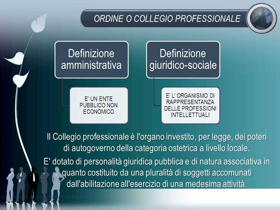 ORDINE O COLLEGIO PROFESSIONALE