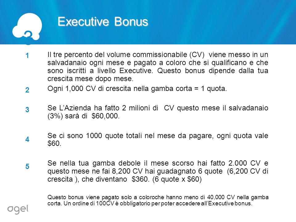 3 Executive Bonus. 1.