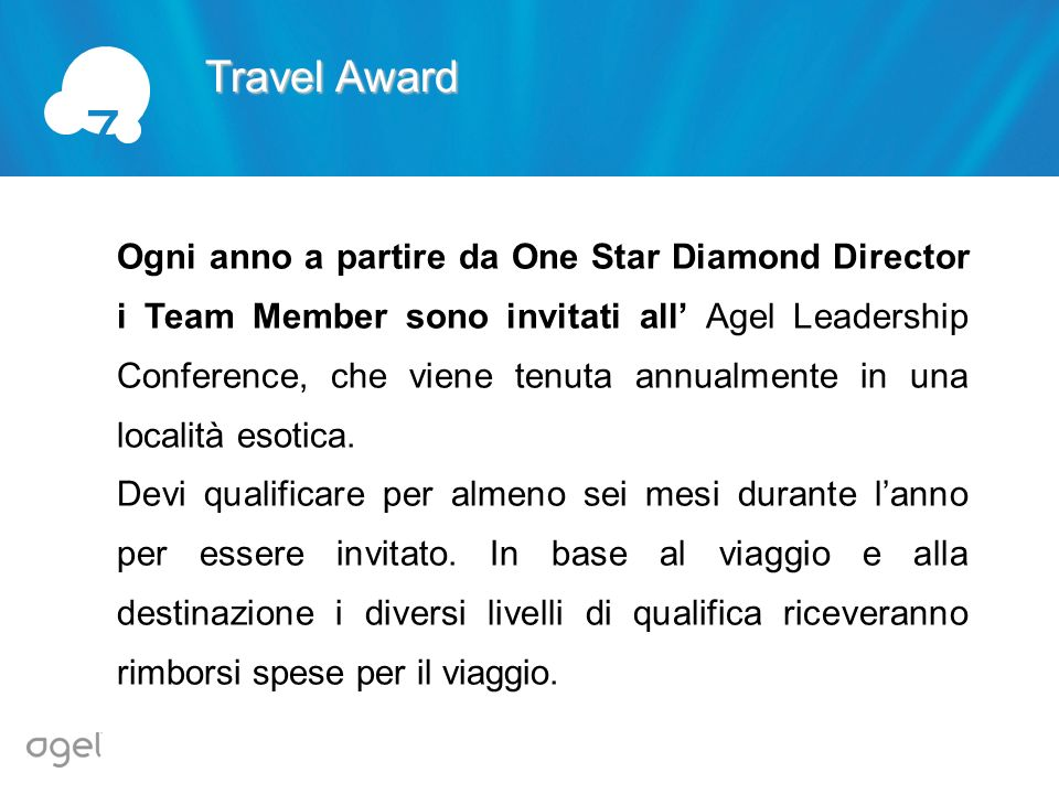 7 Travel Award.