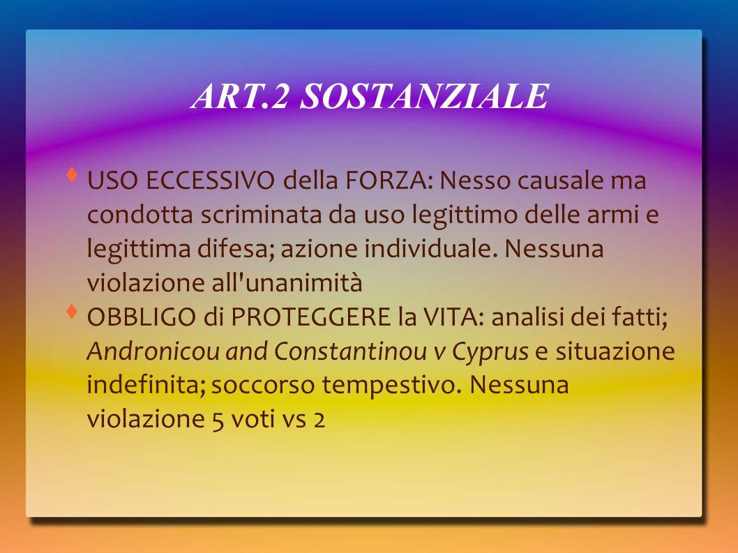 ART.2 SOSTANZIALE