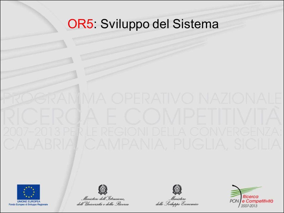 OR5: Sviluppo del Sistema