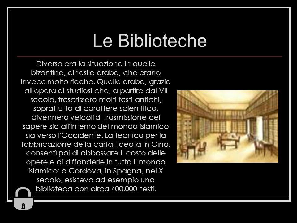 Le Biblioteche