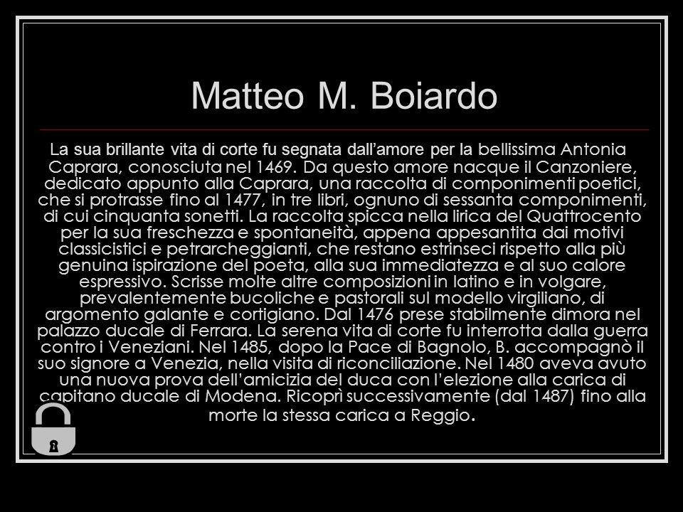 Matteo M. Boiardo