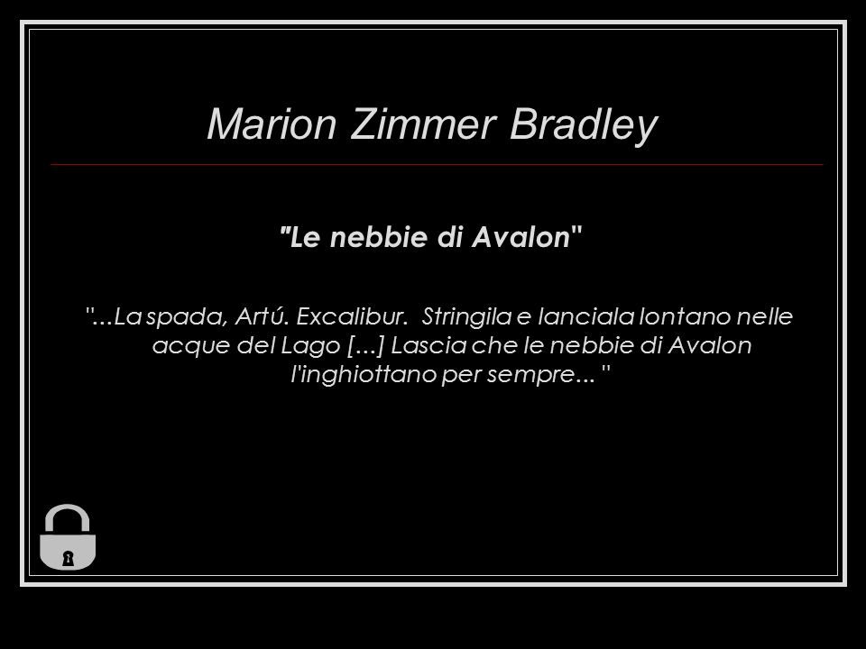 Marion Zimmer Bradley Le nebbie di Avalon