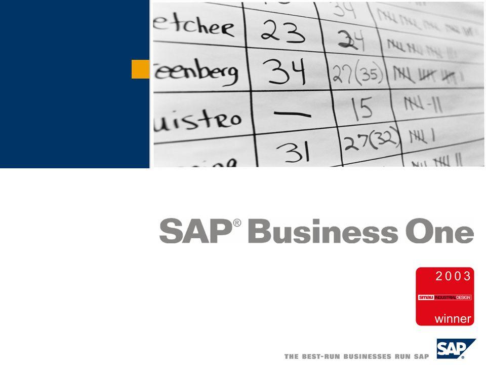 Buongiorno, benvenuti alla postazione dimostrativa degli Acquisti di SAP Business One.