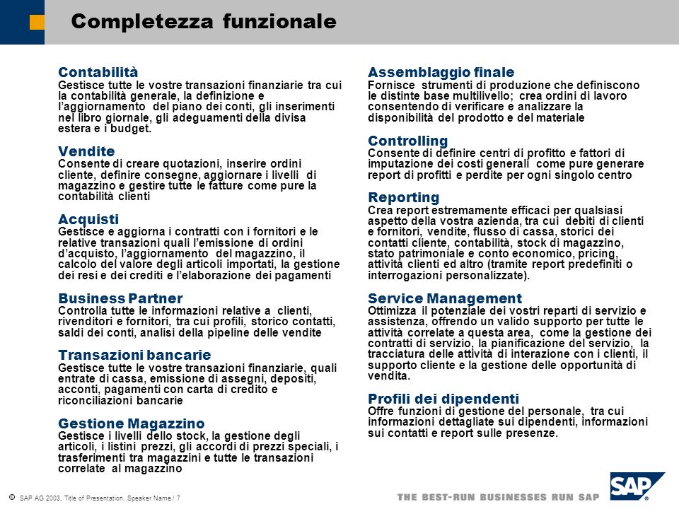 Completezza funzionale