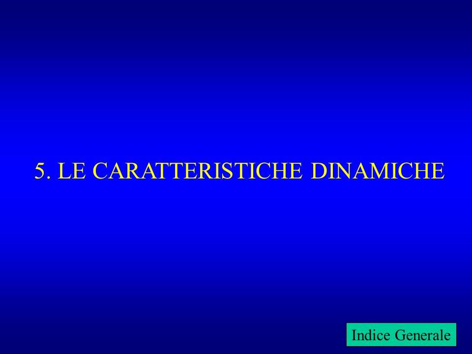 5. LE CARATTERISTICHE DINAMICHE