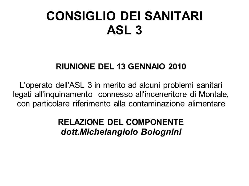 CONSIGLIO DEI SANITARI ASL 3