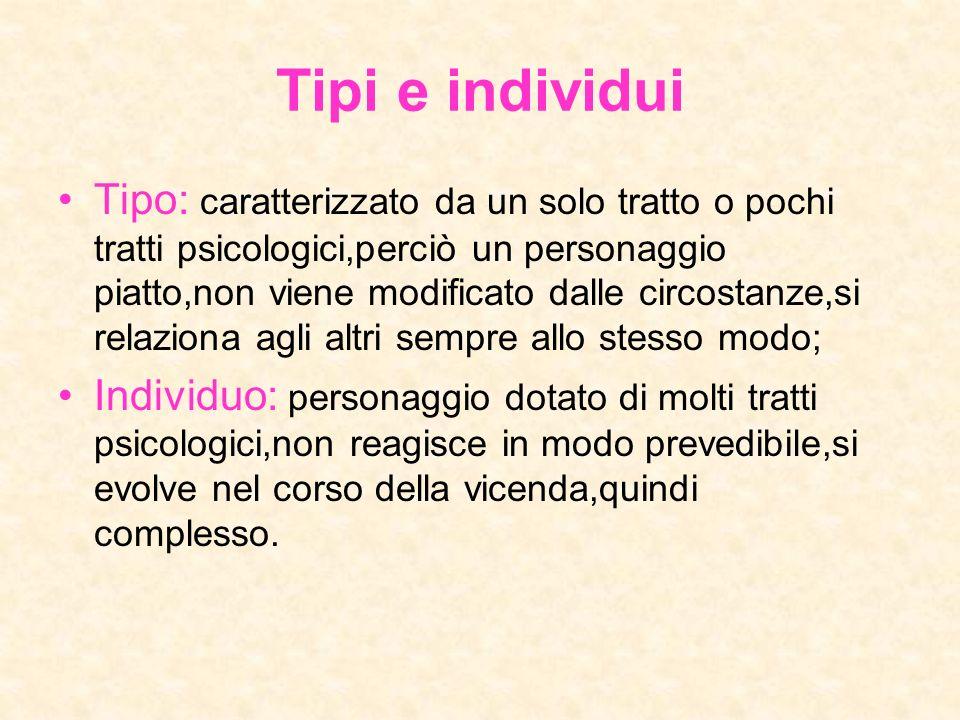 Tipi e individui