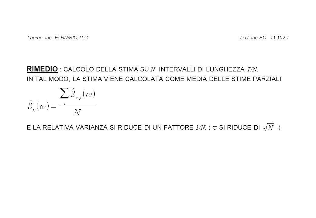 Laurea Ing EO/IN/BIO;TLC D.U. Ing EO 11.102.1