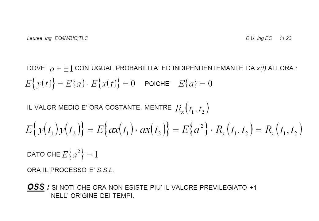 Laurea Ing EO/IN/BIO;TLC D.U. Ing EO 11.23
