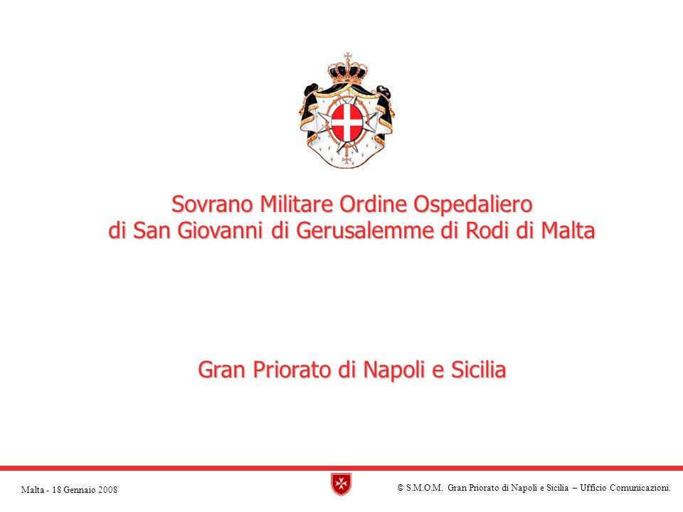 © S.M.O.M. Gran Priorato di Napoli e Sicilia – Ufficio Comunicazioni.