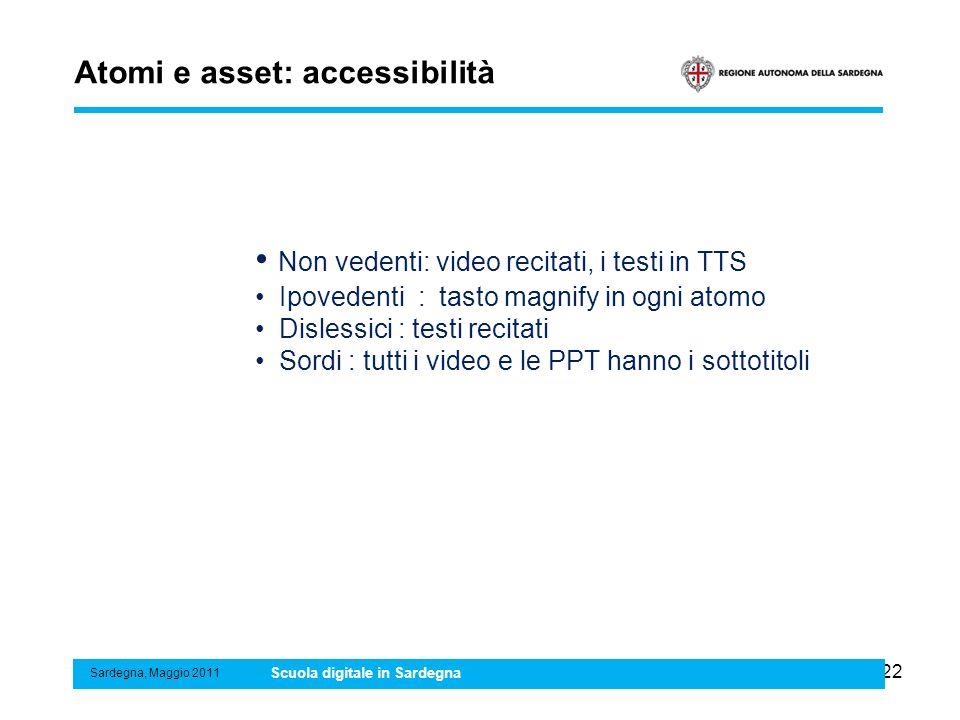 Atomi e asset: accessibilità