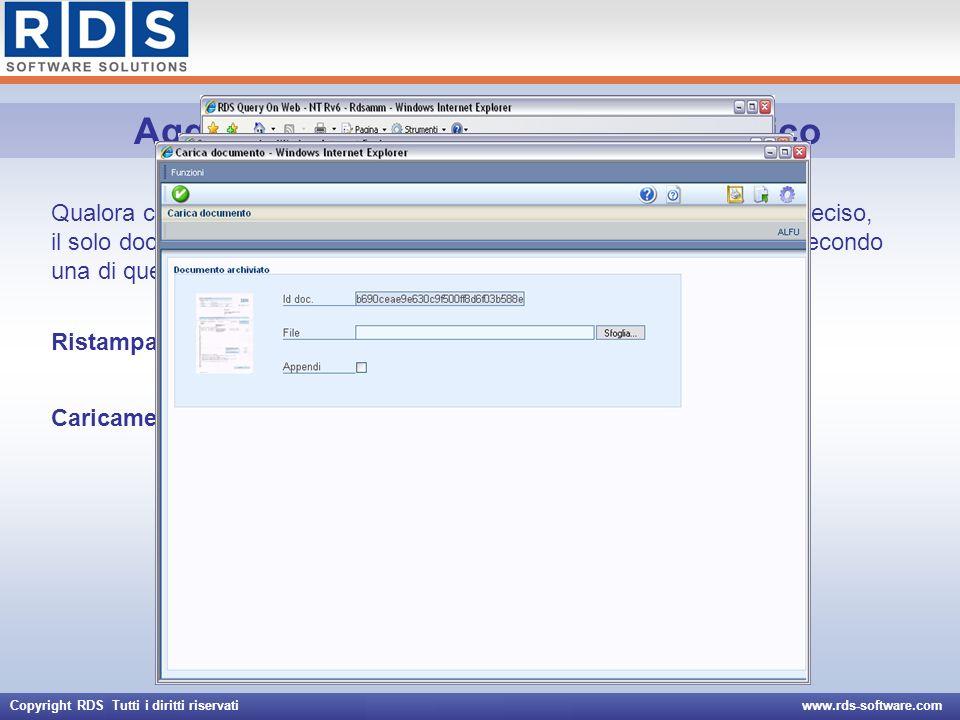 Aggiornamento documento elettronico