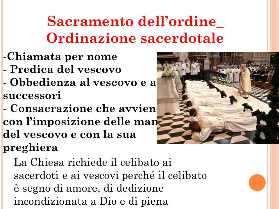 Sacramento dell'ordine_ Ordinazione sacerdotale