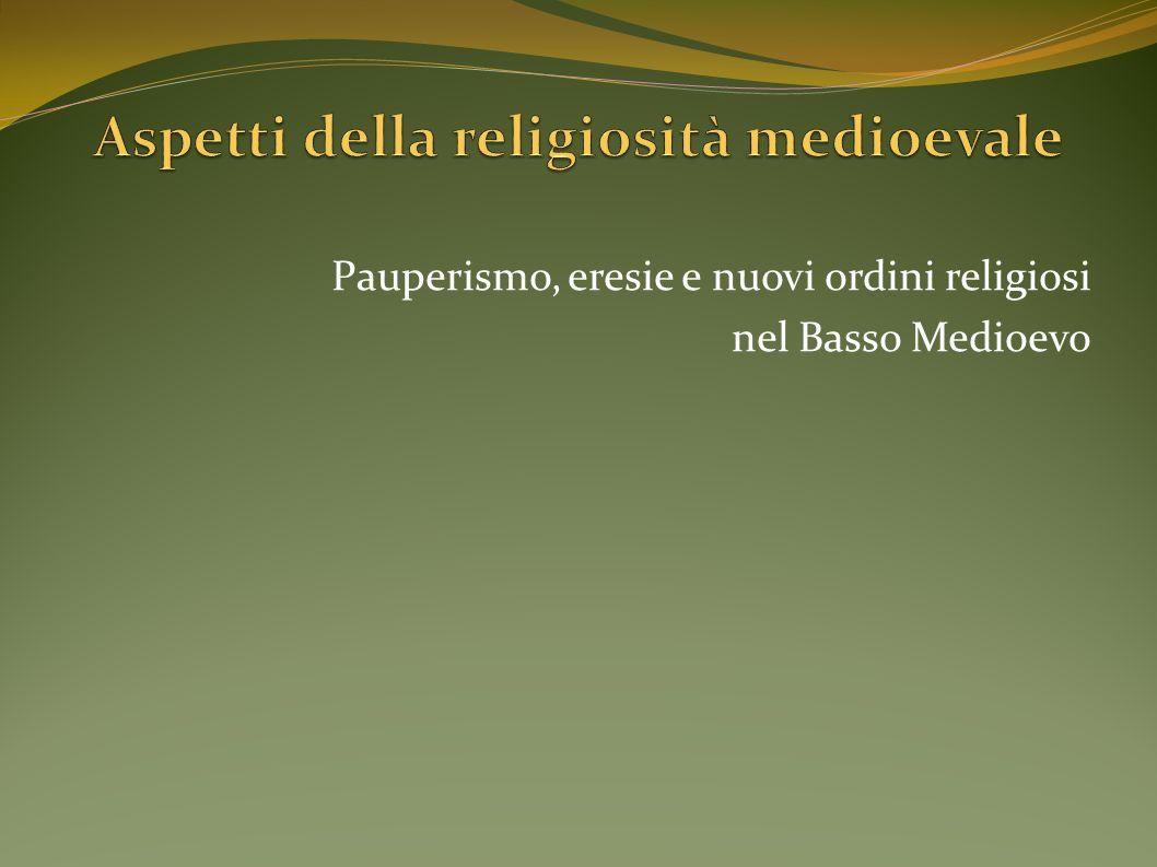 Aspetti della religiosità medioevale