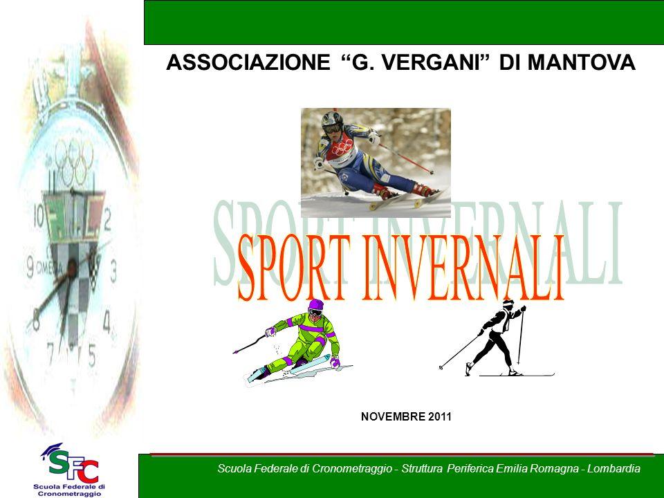 SPORT INVERNALI ASSOCIAZIONE G. VERGANI DI MANTOVA